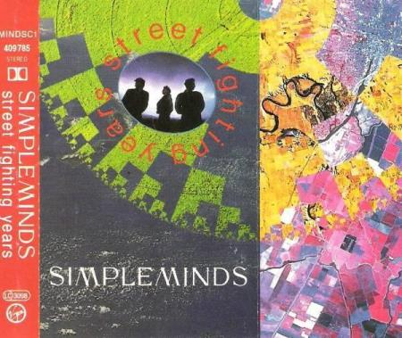 SIMPLE MINDS.-STREET FIGHTING YEARS.-88-89.
