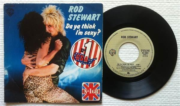 Rod Stewart Da Ya Think Im Sexy?
