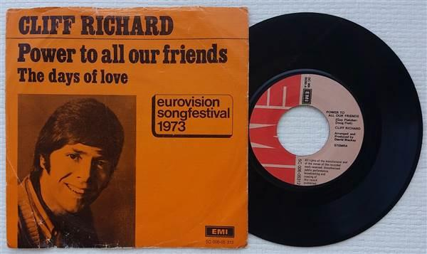 Cliff Richard - Power To All Our Friends / Come Back Billie Joe