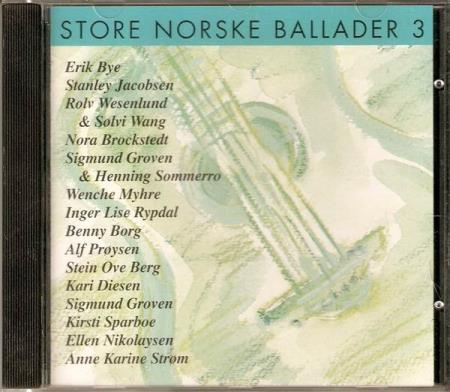 Store Norske Ballader 3 - Wenche Myhre Benny Borg