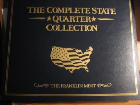 Complete State Quarter Collection Franklin Mint 1999-2008