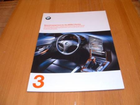 SPECIAL EQUIPMENT FOR THE BMW 3 SERIES 1997