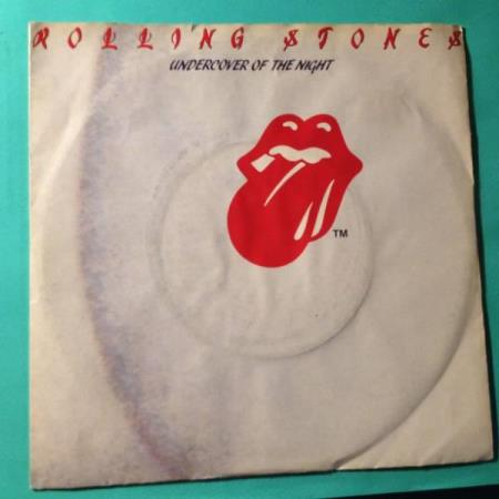 VINYL SINGEL:ROLLING STONES: UNDERCOVER OF THE NIGHT/ALL THE