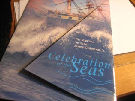 Celebration of the Sea  Maritim heritage stamp Colection
