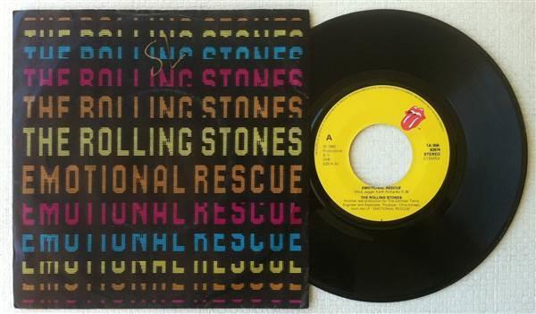 Rolling Stones Emotional Rescue 1980 Dutch 7 Quot Selges