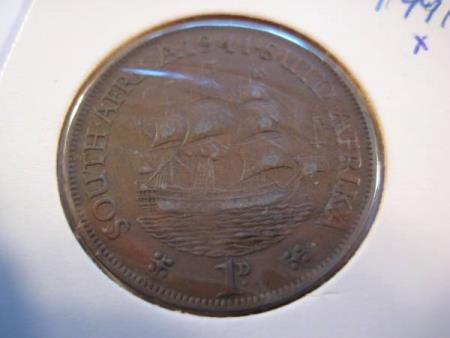 1 Penny S A 1941