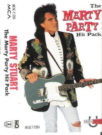 MARTY STUART.-THE MARTY PARTY HIT PACK.-1995. - Notodden - FIN.  - Notodden