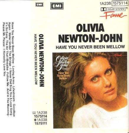 OLIVIA NEWTON JOHN.-HAVE YOU NEVER BEEN MELLOW.-1974-75.