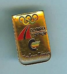 Color Line - Olympiatoppen Norge - pin fra Sporrong
