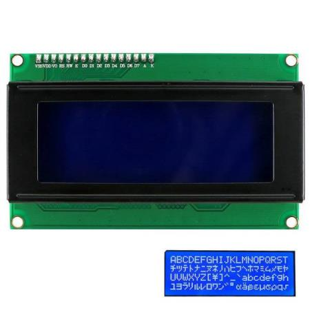 I2C 2004 BLUE BACKLIGHT LCD DISPLAY MODULE – FOR ALLE MCU - Oslo - I2C 2004 BLUE BACKLIGHT LCD DISPLAY MODULE PASSER SÅ OG SI ALLE TYPER MCU SOM BL.A: ARDUINO, BANANA Pi, RASPBERRY Pi, 8051, ARM, AVR, PIC KUN KR. 129.- The module is a high-quality 2 line 20 character LCD module with I2C interface and it is a basi - Oslo