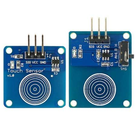 TOUCH SENSOR MODULE KIT – FOR ALLE TYPER MCU - Oslo - TOUCH SENSOR MODULE KIT PASSER SÅ OG SI ALLE TYPER MCU SOM BL.A: ARDUINO, BANANA Pi, RASPBERRY Pi, 8051, ARM, AVR, PIC KUN KR. 49.- Touch Sensor module: Based on the touch sensor chip TTP223B, the module is capacitive touch switch module. Normally - Oslo