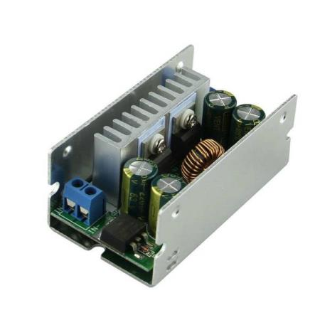 8V-55V to 1.25V-32V 15A STEP-DOWN POWER SUPPLY MODULE - Oslo - 8V-55V to 1.25V-32V 15A STEP-DOWN POWER SUPPLY MODULE KUN KR. 179.- Rectifier mode: synchronous rectifier Type: non-isolated buck module (BUCK) Input voltage: 8-55V (Max 60V, don't advise to use 60V) Output voltage: 1.25-32V continuously adjustable - Oslo