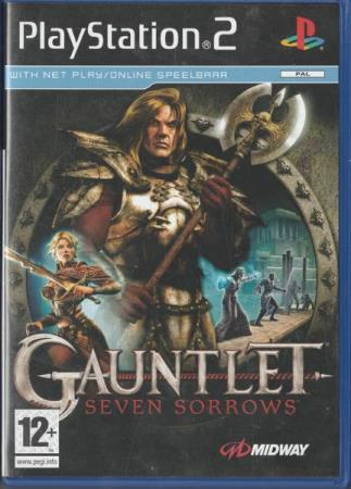 Gauntlet Seven Sorrows PS2 Playstation 2