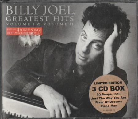 Billy Joel Greatest Hits 3 CD Box (CD)