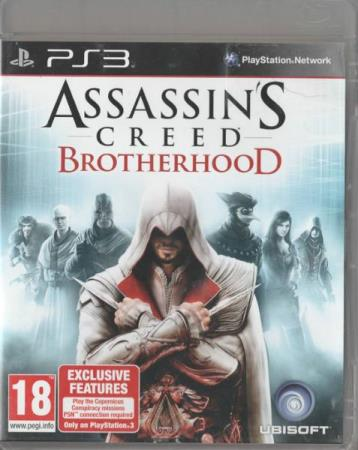 Assassins Creed Brotherhood PS3 Playstation 3
