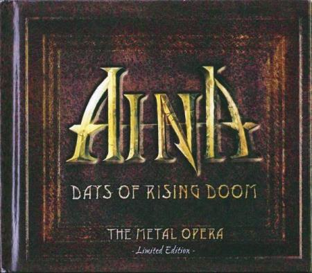Aina - Days Of Rising Doom - The Metal Opera - 2CD+DVD