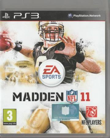 Madden 11 NFL PS3 Playstation 3