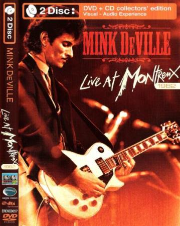 MINK DEVILLE.-LIVE AT MONTREUX 1982.-DVD+CD.