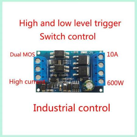 4V-60V PWM MOS FET TRIGGER DRIVE MODULE - Oslo - 4V-60V PWM MOS FET TRIGGER DRIVE MODULE KUN KR. 49.- The module supports high-level trigger, low-level trigger, switch control, PWM control. The use of imported dual-MOS parallel active output, lower internal resistance, current, power strong, cont - Oslo
