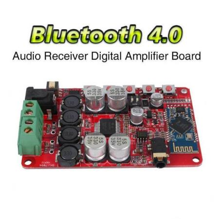 50W+50W BLUETOOTH 4.0 STEREO AUDIO RECEIVER AMPLIFIER MODULE - Oslo - 50W+50W BLUETOOTH 4.0 STEREO AUDIO RECEIVER AMPLIFIER MODULE KUN KR. 169.- Automatically goes into pairing mode after power on. Support all versions of Bluetooth connection stereo input. Switch is convenient and can adjust power amplifier gain dire - Oslo