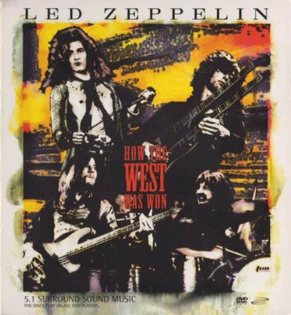 Led Zeppelin - How The West Was Won - DVD x 2