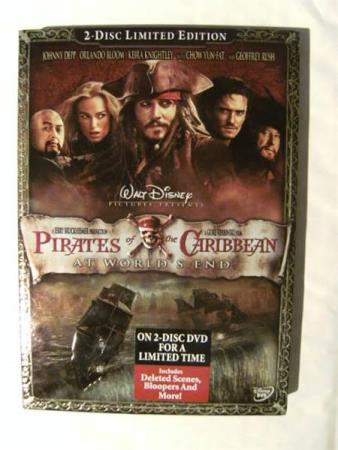 Pirates of the Caribbean: At Worlds End 2-DVD (EX)