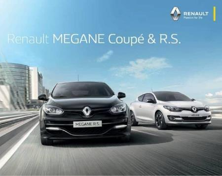 Renault Sport Megane Coupe & R.S. brosjyre 02 / 2016 AT