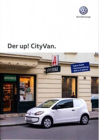 Volkswagen Vw Up! City Van brosjyre 09 / 2015 AT