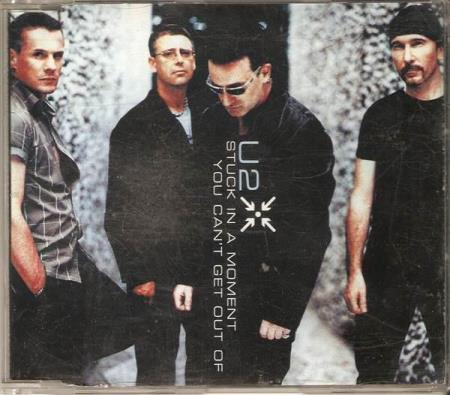 U2 - Stuck With A Momen You Cant Get Out Of - CD-Singel