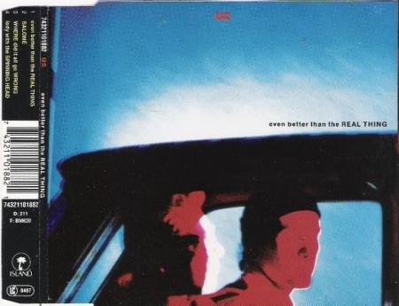 U2 - Even Better Than The Real Thing - CD-Singel