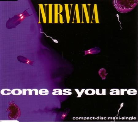 Nirvana - Come As You Are - CD-Single