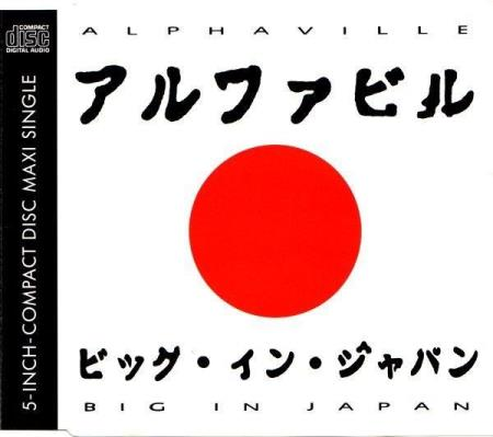 Alphaville - Big In Japan 1992 A.D. - CD-Singel