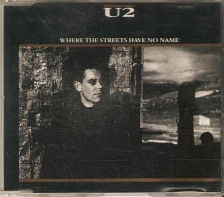 U2 - Where The Streets Have No Name - CD-Singel