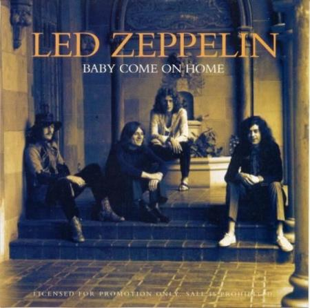 Led Zeppelin - Baby Come On Home - Promo CD-Singel