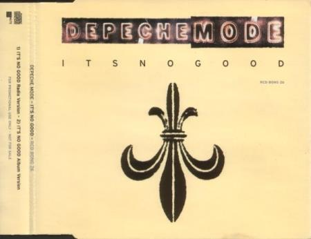 Depeche Mode - Its No Good - Promo CD-Singel