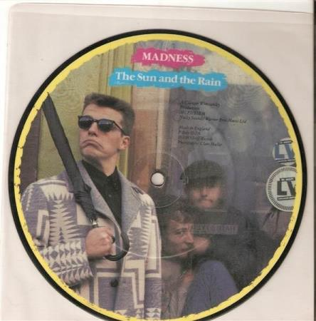 Madness - The Sund And The Rain -  Pic Disc