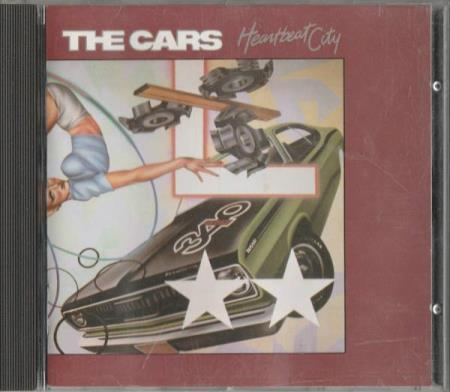 The Cars - Heartbeat City CD 1984 Synth pop