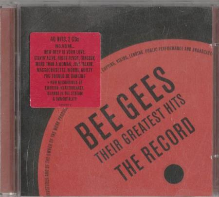 Bee Gees - Their Greatest Hits: The Record CD (2 CD)