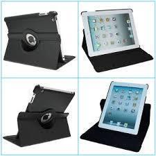 360 ROTERENDE Smart Cover  IPAD 2, 3, 4 sort, fri fragt
