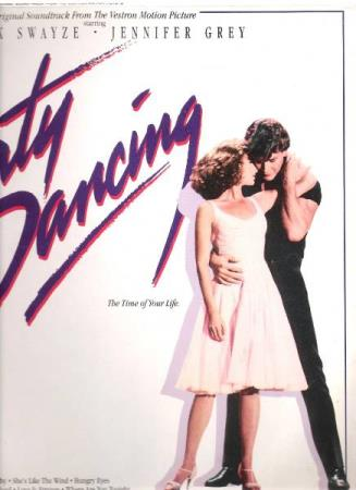PATRICK SWAYZE.-DIRTY DANCING M.FL.-1987.