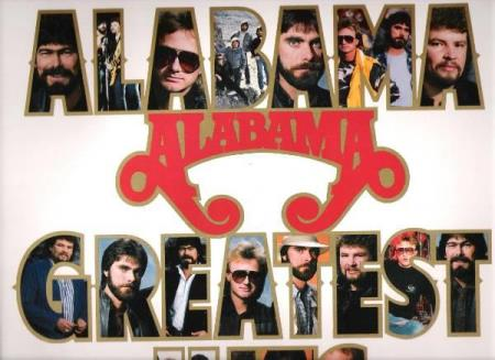 ALABAMA.-GREATEST HITS.-1986. - Notodden - FIN LP-FINT COVER.  - Notodden