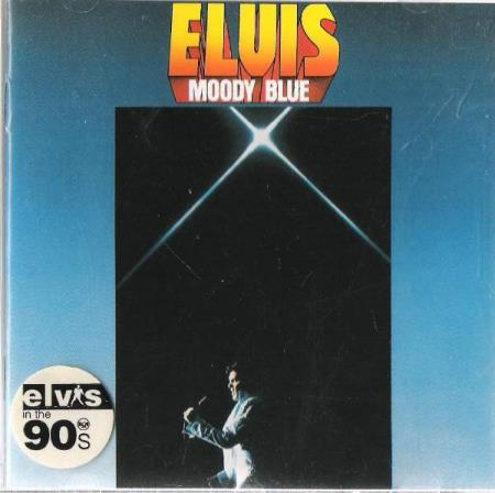 ELVIS PRESLEY.-MOODY BLUE.,-1977.-UNCHAINED MELODY.