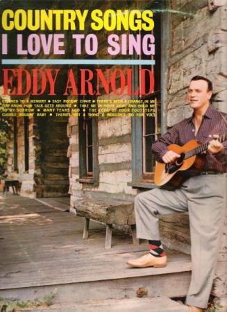EDDY ARNOLD.-I LOVE TO SING.-COUNTRY SONGS. - Notodden - FIN.  - Notodden