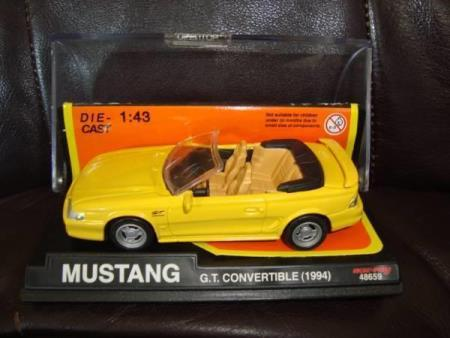 Ford Mustang G.T. Convertible 1994- Die Cast 1:43