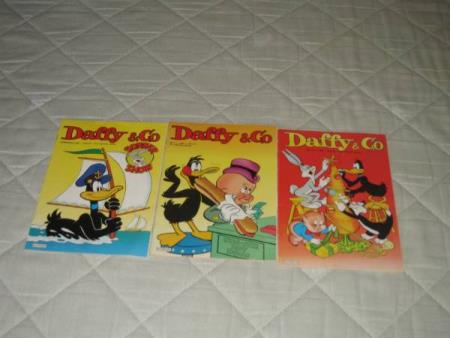 3 Daffy og Co blader fra 1985