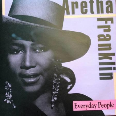 VINYL SINGEL: ARETHA FRANKLIN:EVERYDAY PEOPLE/YOU CANT TAKE