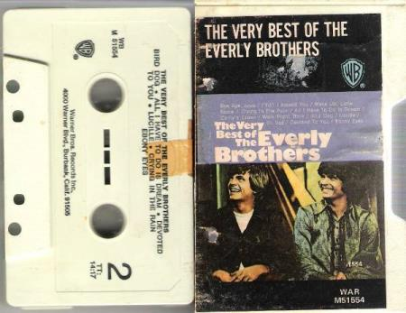 EVERLY BROTHERS.-THE VERY BEST OF THE EVERLY BROTHERS.