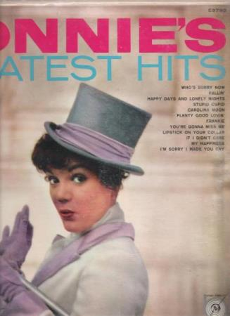 CONNIE FRANCIS.-CONNIE;S GREATEST HITS.