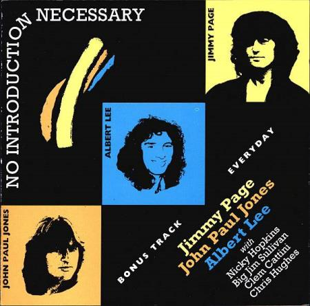 Jimmy Page  Albert Lee - No Introduction Necessary - CD