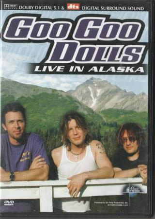 Goo Goo Dolls - Live in Alaska DVD 2005 PAL